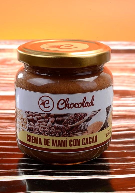 Crema de maní con cacao